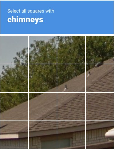 a roof with tiny chimneys
